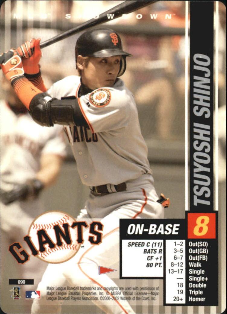 2002 MLB Showdown Pennant Run #90 Tsuyoshi Shinjo