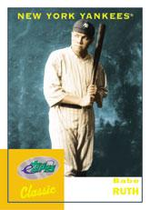 2002 eTopps Classic #1 Babe Ruth