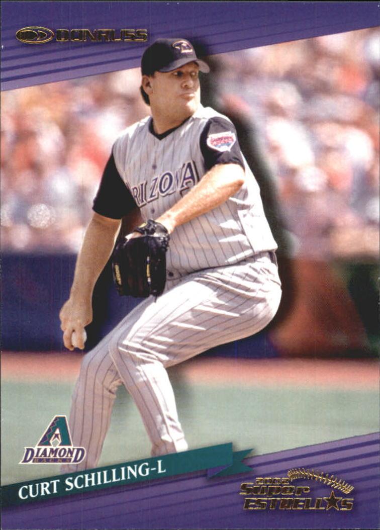 2002 Donruss Super Estrellas #4 Curt Schilling