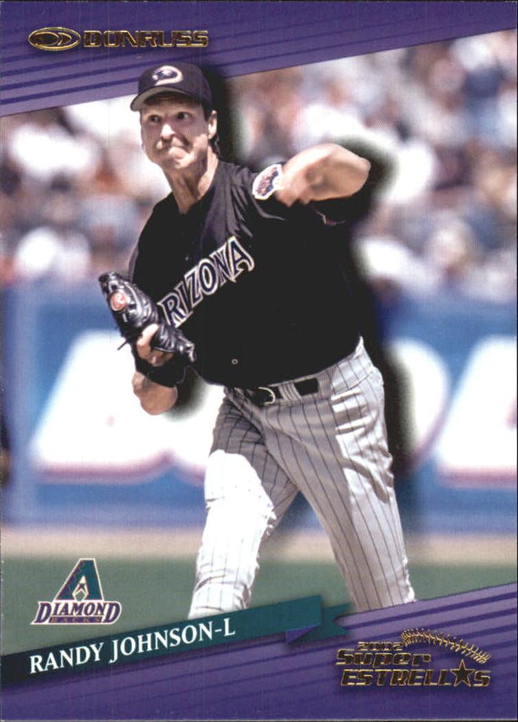 2002 Donruss Super Estrellas #7 Randy Johnson