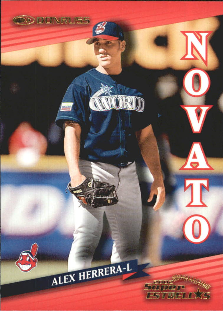 2002 Donruss Super Estrellas #102 Alex Herrera NV
