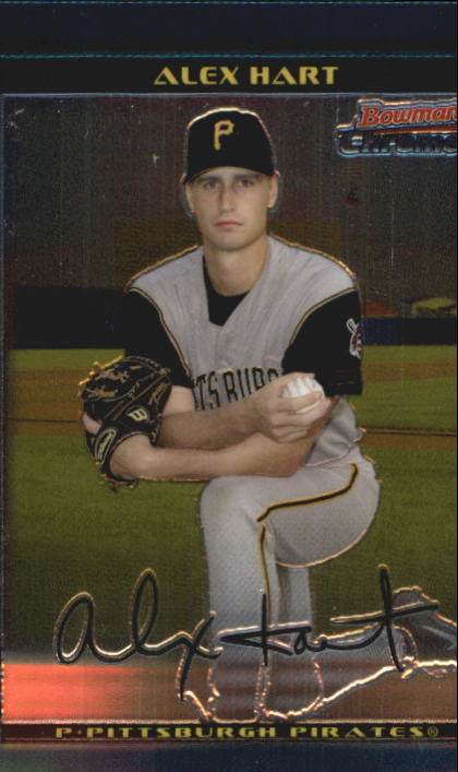 2002 Bowman Chrome Draft #85 Alex Hart RC