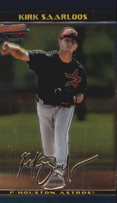 2002 Bowman Chrome Draft #108 Kirk Saarloos RC