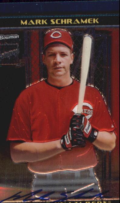 2002 Bowman Chrome Draft #175 Mark Schramek AU RC