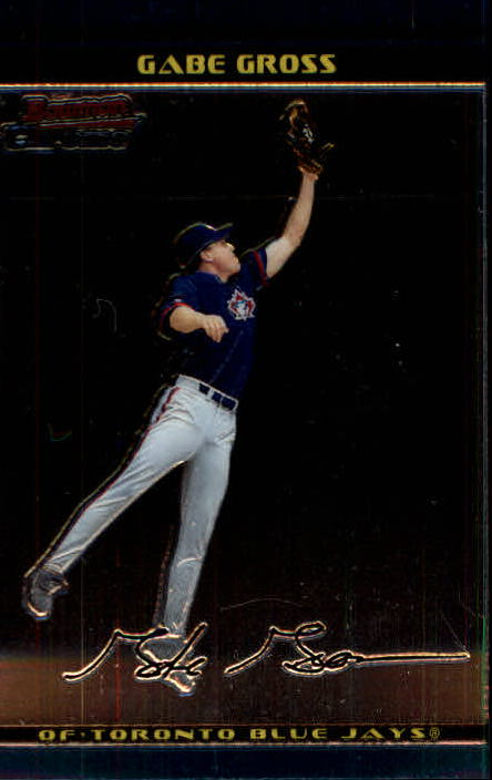 2002 Bowman Chrome #281 Gabe Gross