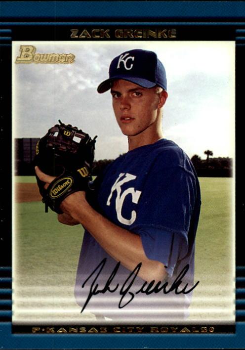 2002 Bowman Draft #BDP6 Zack Greinke RC
