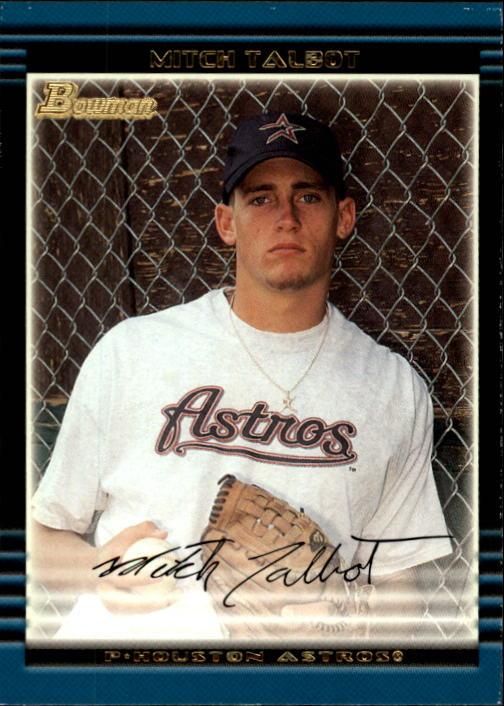 2002 Bowman Draft #BDP74 Mitch Talbot RC