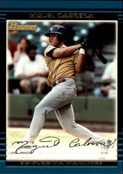 2002 Bowman Draft #BDP156 Miguel Cabrera