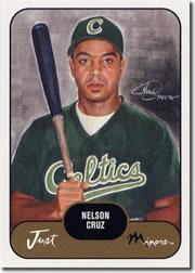 2002 Just Prospects #10 Nelson Cruz UER