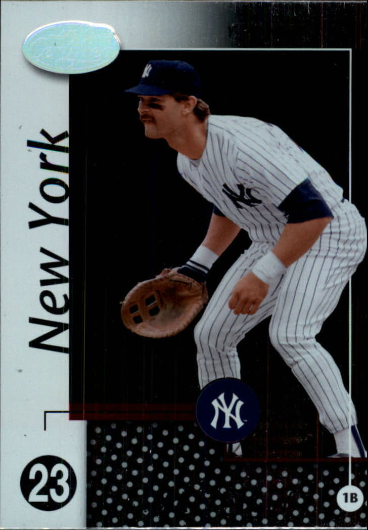 2002 Leaf Certified #27 Don Mattingly