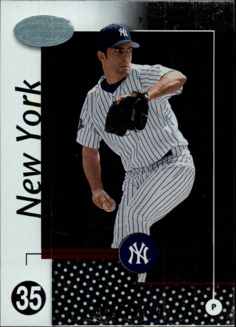 2002 Leaf Certified #105 Mike Mussina