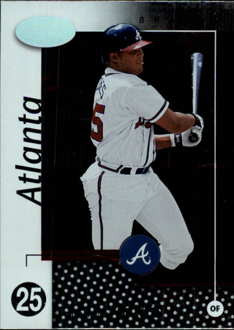 2002 Leaf Certified #140 Andruw Jones