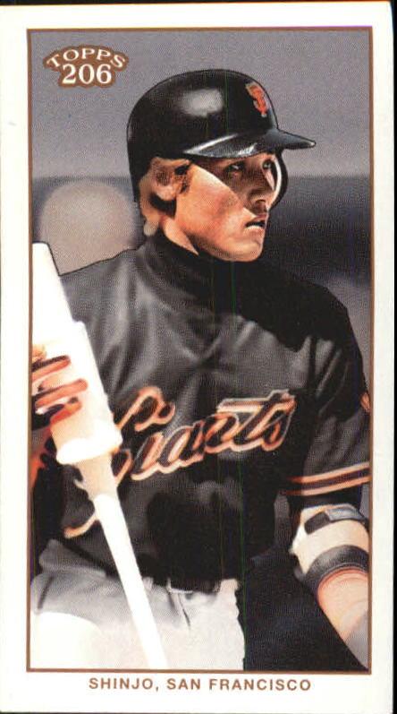 2002 Topps 206 Carolina Brights #250B Tsuyoshi Shinjo Helmet