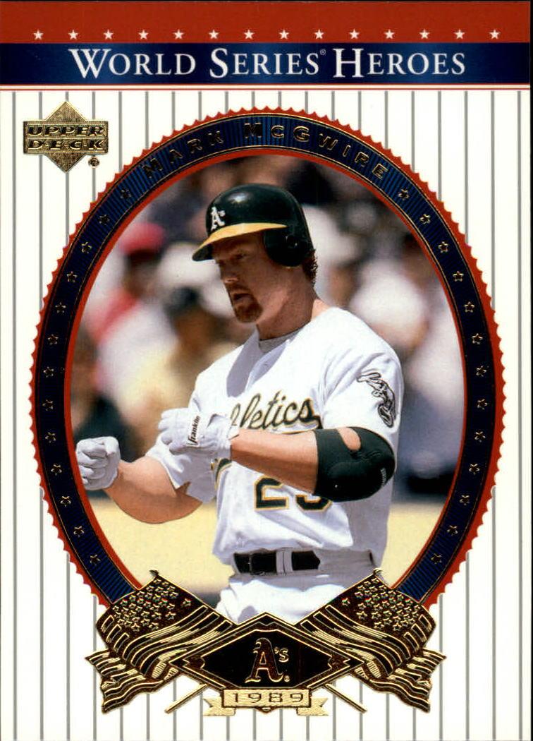 2002 Upper Deck World Series Heroes #3 Mark McGwire