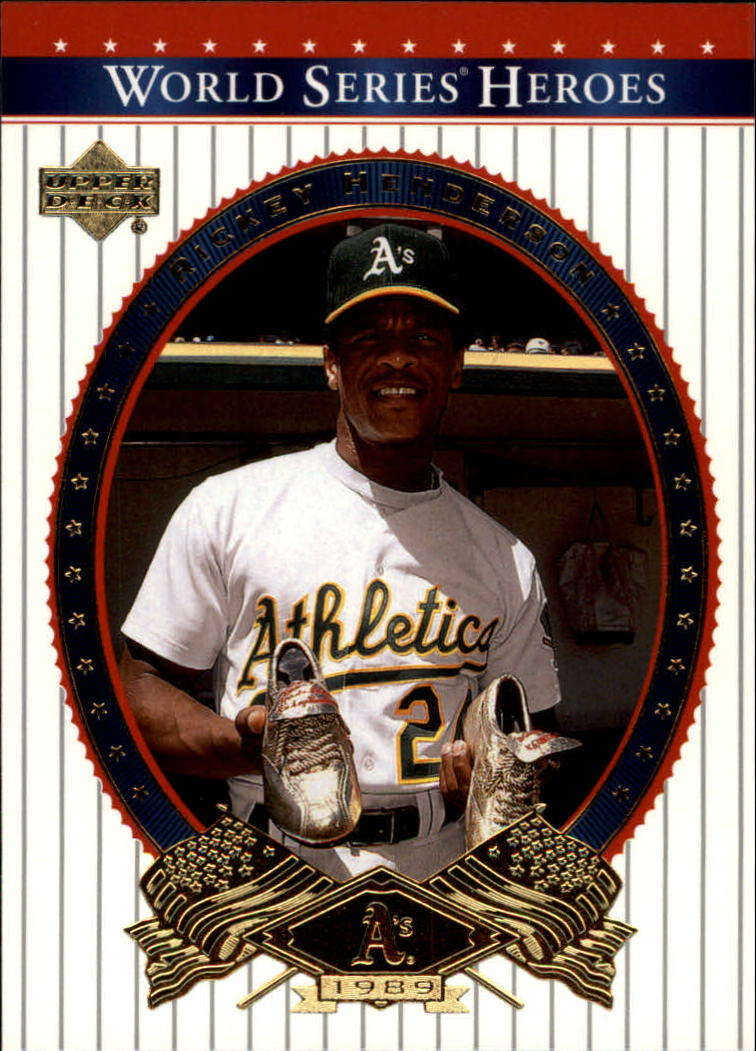 2002 Upper Deck World Series Heroes #5 Rickey Henderson