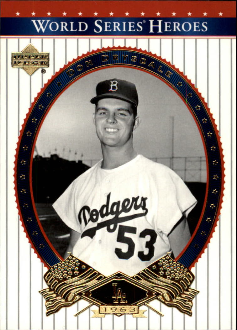 2002 Upper Deck World Series Heroes #35 Don Drysdale