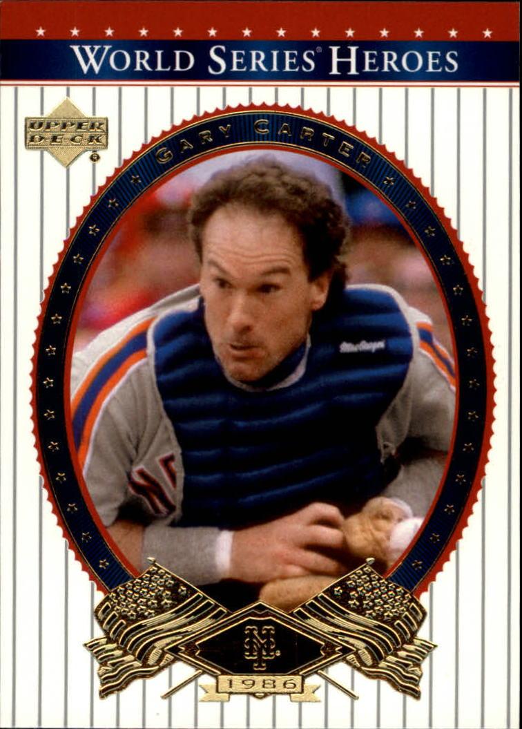 2002 Upper Deck World Series Heroes #49 Gary Carter