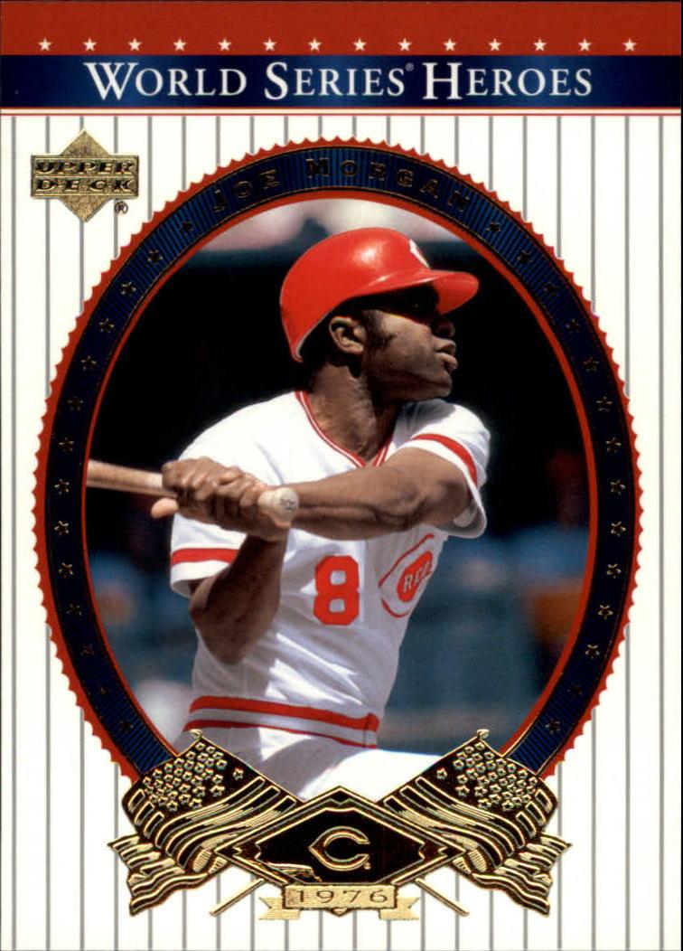 2002 Upper Deck World Series Heroes #66 Joe Morgan