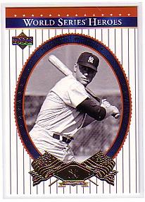 2002 Upper Deck World Series Heroes #74 Mickey Mantle