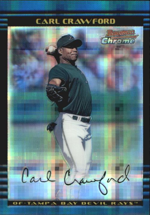 2002 Bowman Chrome X-Fractors #237 Carl Crawford