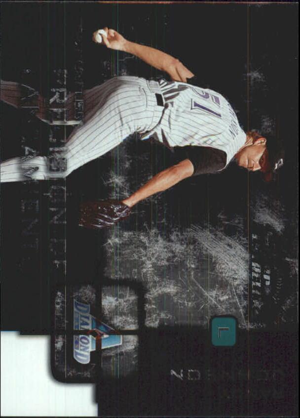 2002 Donruss Super Estrellas Precision De Lanzamiento #3 Randy Johnson