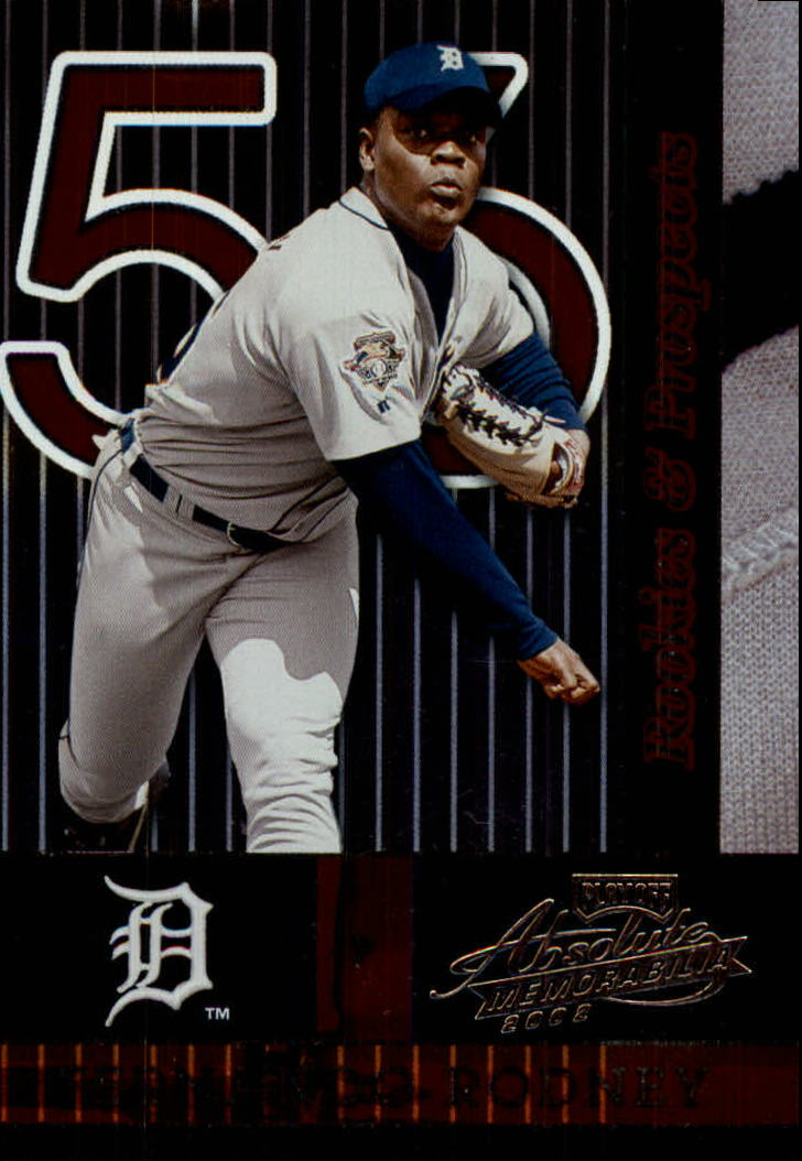 2002 Absolute Memorabilia #157 Fernando Rodney RP
