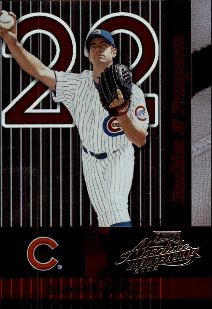 2002 Absolute Memorabilia #165 Mark Prior RP