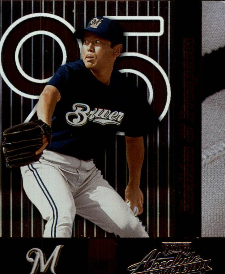 2002 Absolute Memorabilia #169 Takahito Nomura RP RC