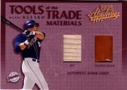 2002 Absolute Memorabilia Tools of the Trade Materials #TT80 Ryan Klesko Bat-Fld Glv