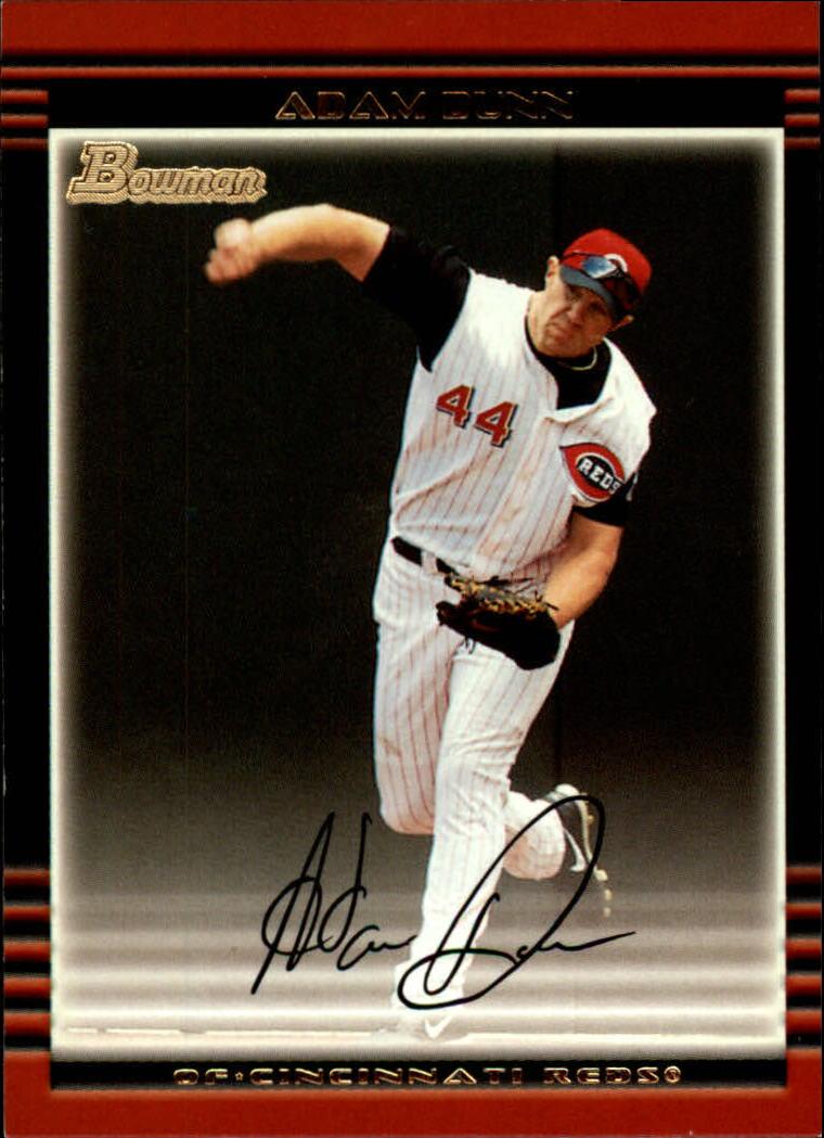 2002 Bowman #1 Adam Dunn