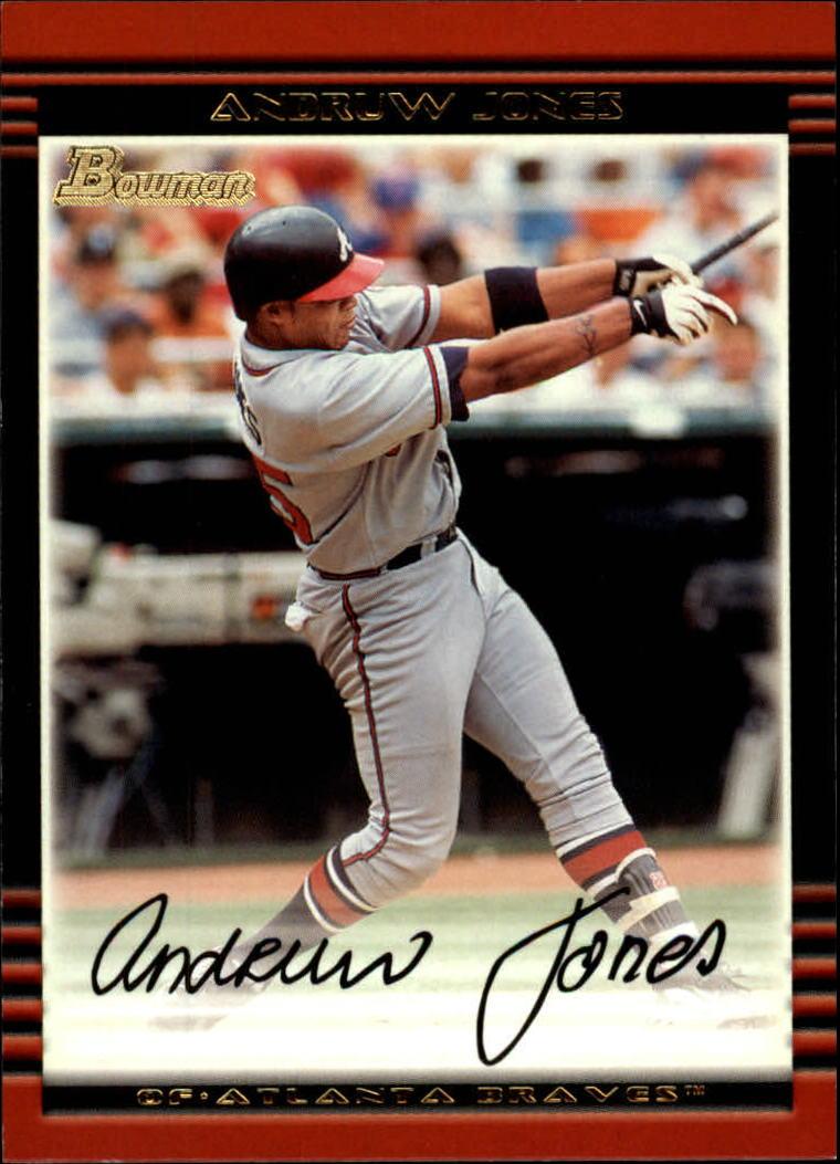 2002 Bowman #32 Andruw Jones
