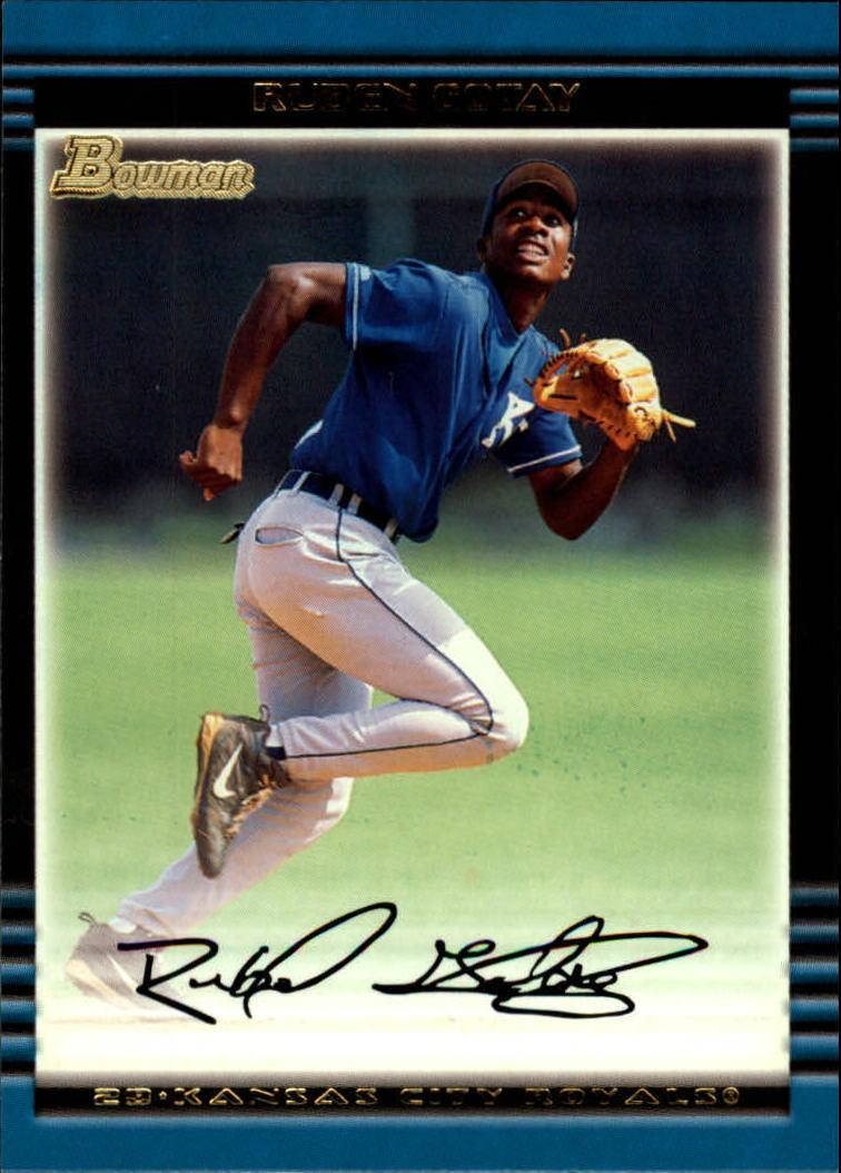 2002 Bowman #161 Ruben Gotay RC
