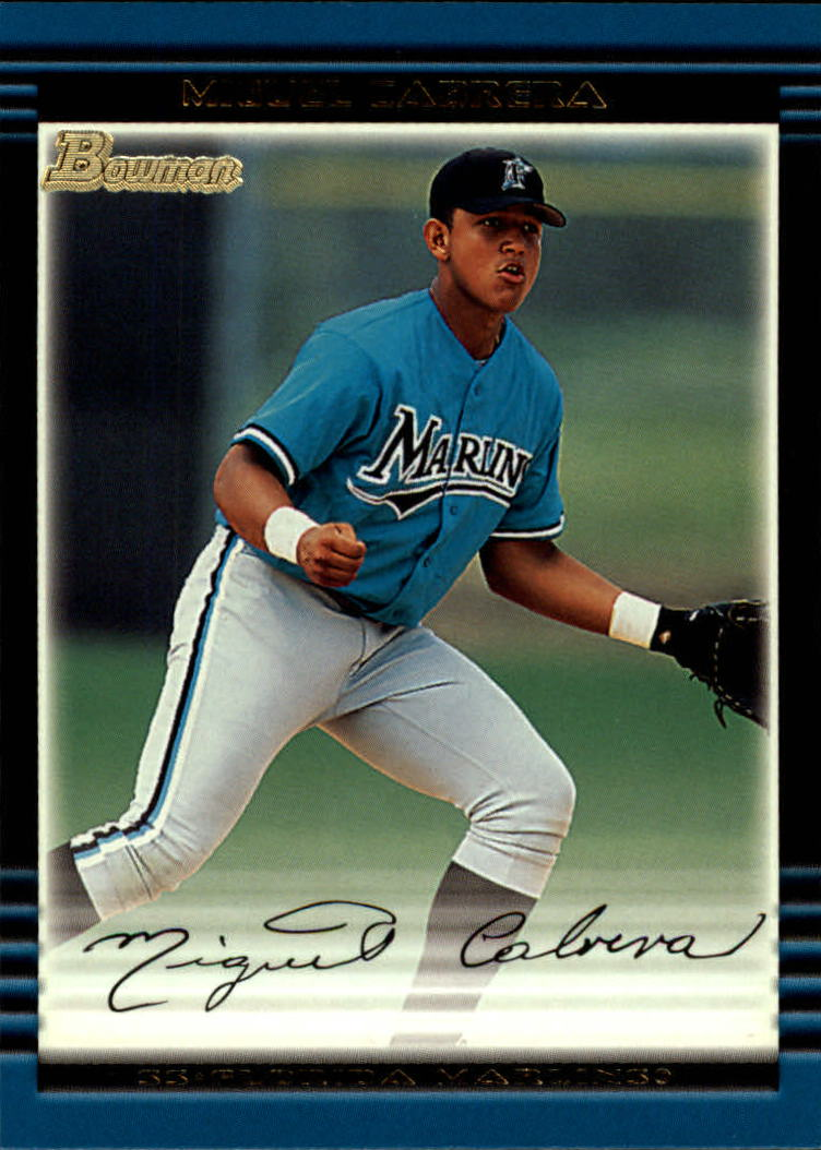 2002 Bowman #245 Miguel Cabrera