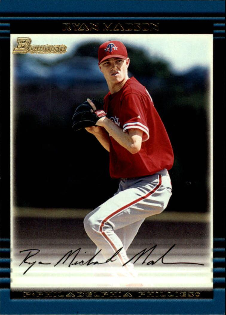 2002 Bowman #288 Ryan Madson