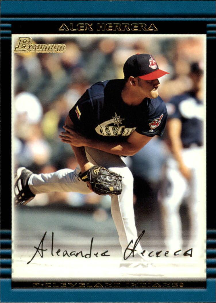 2002 Bowman #439 Alex Herrera