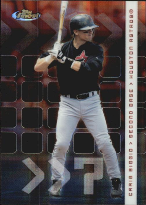 2002 Finest X-Fractors #63 Craig Biggio