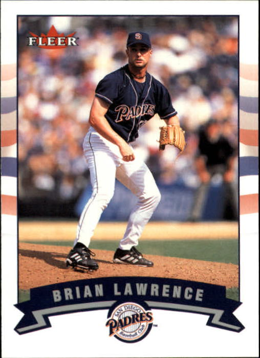 2002 Fleer #163 Brian Lawrence