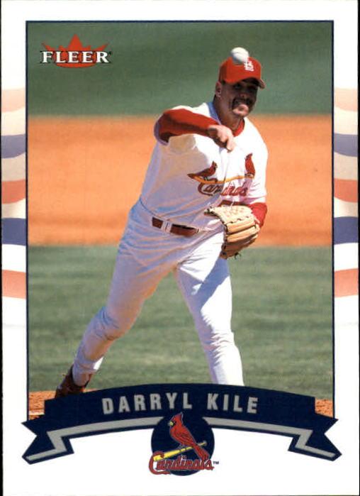 2002 Fleer #364 Darryl Kile