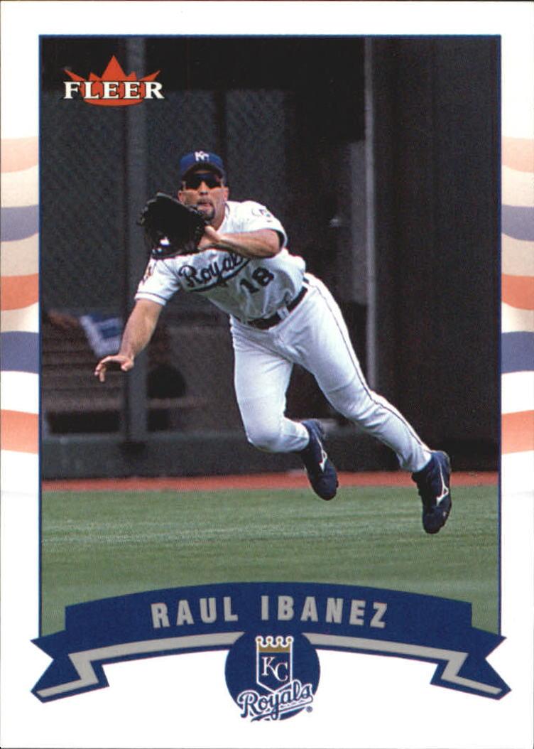 2002 Fleer Tiffany #144 Raul Ibanez