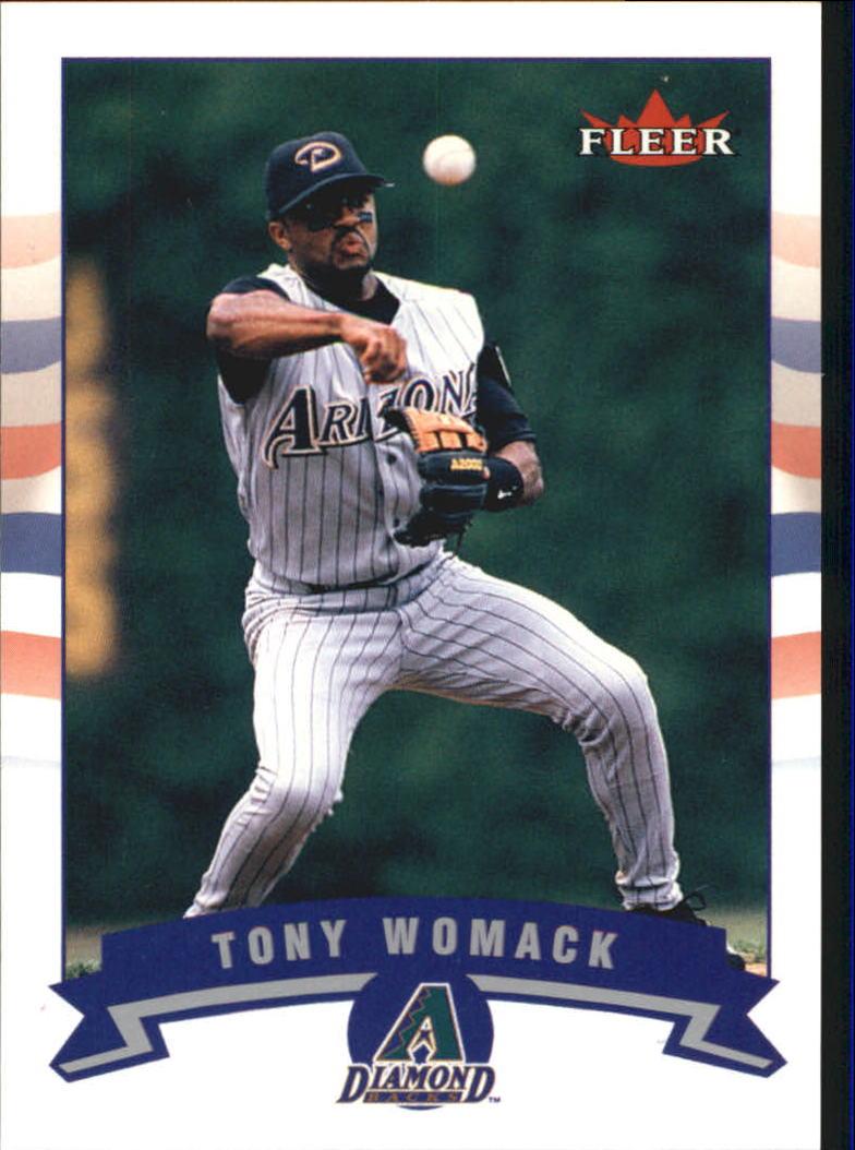 2002 Fleer Tiffany #243 Tony Womack