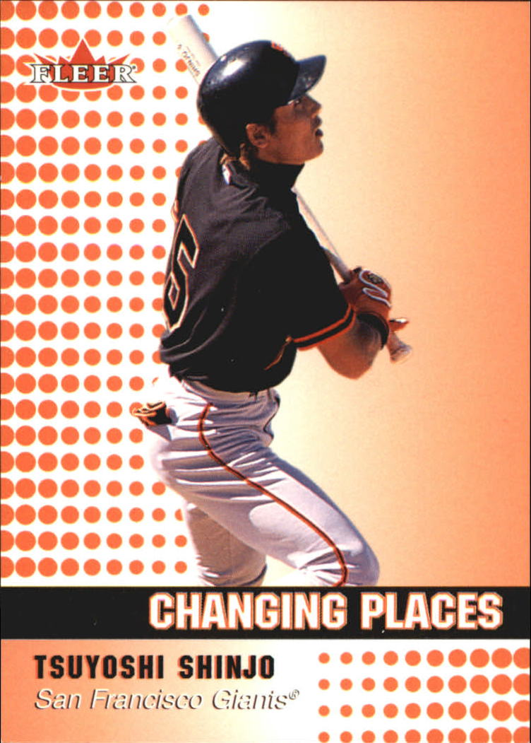 2002 Fleer Tiffany #438 Tsuyoshi Shinjo CP