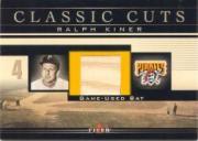 2002 Fleer Classic Cuts Game Used #RKB Ralph Kiner Bat/47