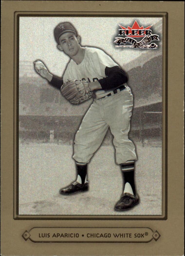 2002 Fleer Fall Classics #11A Luis Aparicio W.Sox