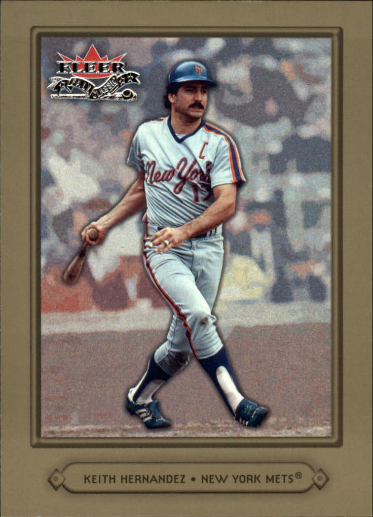2002 Fleer Fall Classics #46A Keith Hernandez Mets