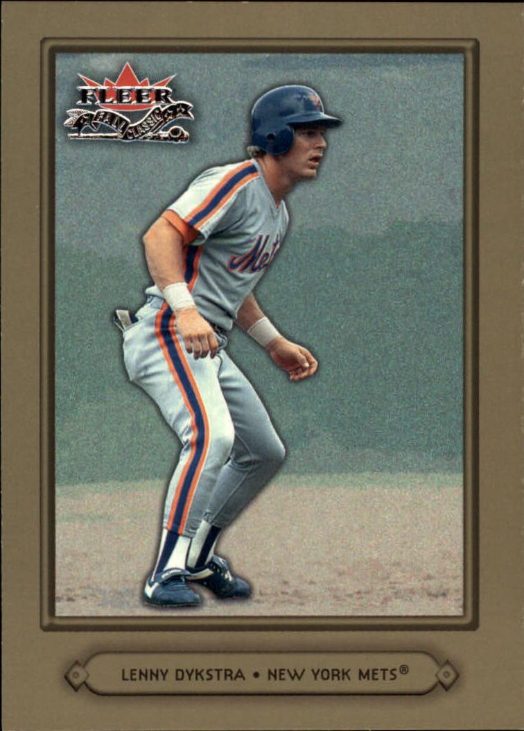 2002 Fleer Fall Classics #55A Lenny Dykstra Mets