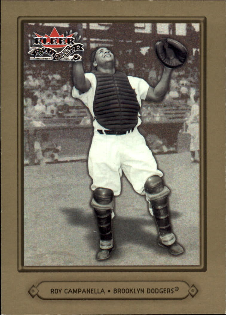 2002 Fleer Fall Classics #89 Roy Campanella
