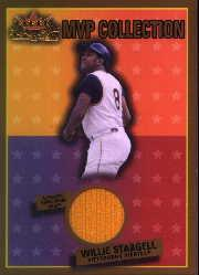 2002 Fleer Fall Classics MVP Collection Game Used Gold #WS Willie Stargell Jsy