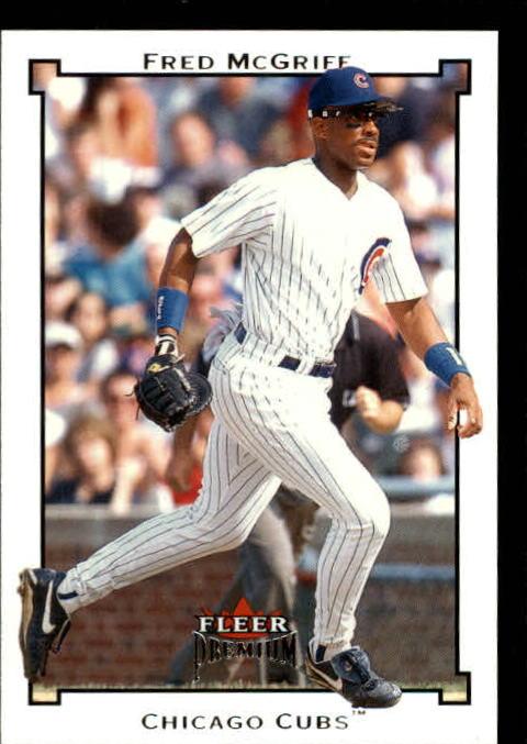 2002 Fleer Premium #74 Fred McGriff