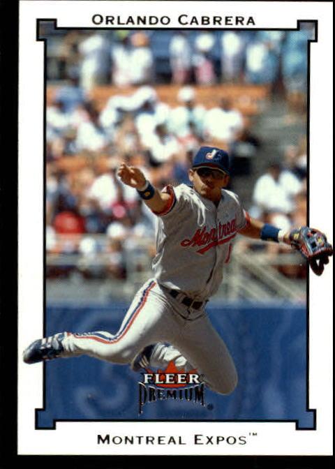 2002 Fleer Premium #93 Orlando Cabrera