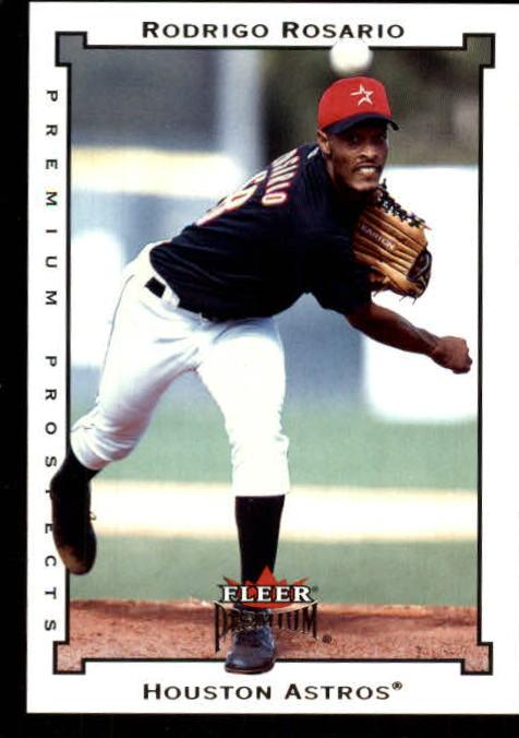 2002 Fleer Premium #247 Rodrigo Rosario UPD RC